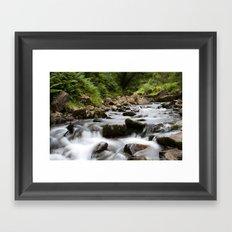Water Flow Framed Art Print