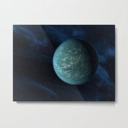 635. Closer to Finding an Earth Artist Concept Metal Print