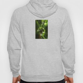 Green geometry Hoody