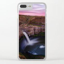 Palouse Falls Clear iPhone Case