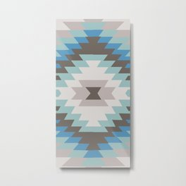 American Native Pattern No. 213 Metal Print