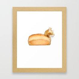 Loaf of Cat Framed Art Print