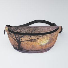 Travel to Sunset 04 (Winter) Fanny Pack