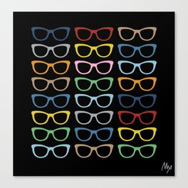 Sunglasses at Night Canvas Print