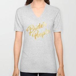 Bride's People Unisex V-Neck