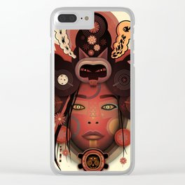 NYXX (urban faery) Clear iPhone Case