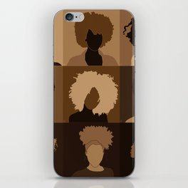 FOR BROWN GIRLS COLLECTION COLLAGE iPhone Skin
