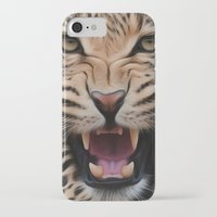 leopard iPhone & iPod Cases featuring Leopard   by Brian Raggatt