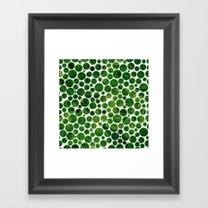 Marble Effect Dots 3 Framed Art Print