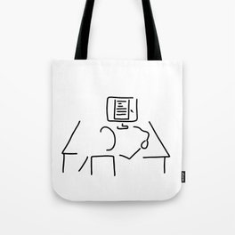 editor technical author script writer Tote Bag