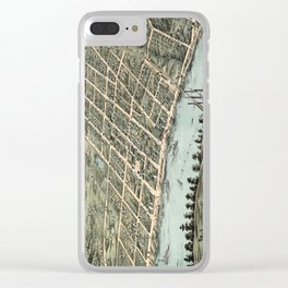 Clarksville - Tennessee - 1870 Clear iPhone Case
