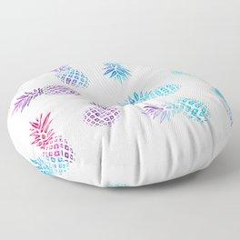 Pineapple Paradise Pattern Floor Pillow