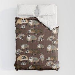 American badger Comforters