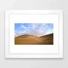 desert photography Framed Art Print