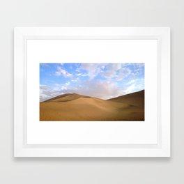 desert photography Framed Art Print