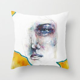 Uncertain Hour Before Morning Throw Pillow
