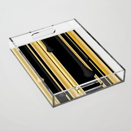 DRIPPING IN GOLD Acrylic Tray