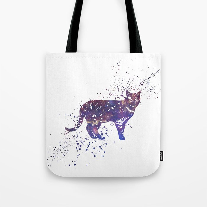 Cat Galaxy Tote Bag