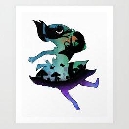 Fall into Wonderland Art Print