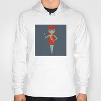 argentina Hoodies featuring Miss Argentina by Kristen Tryon