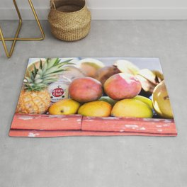 34. Havana Club and Fruits, Cuba Rug