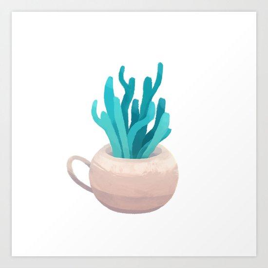 small vase I Art Print
