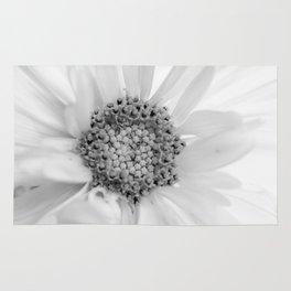 Daisy Black White Rug