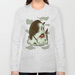 Creep Cloud Face Melt Long Sleeve T-shirt