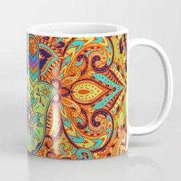 Colorful  Hamsa Hand -  Hand of Fatima Coffee Mug