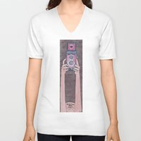 photographer V-neck T-shirts featuring Photographer by mojekris