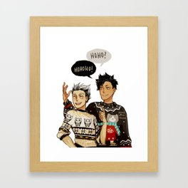 Hohoho? Framed Art Print