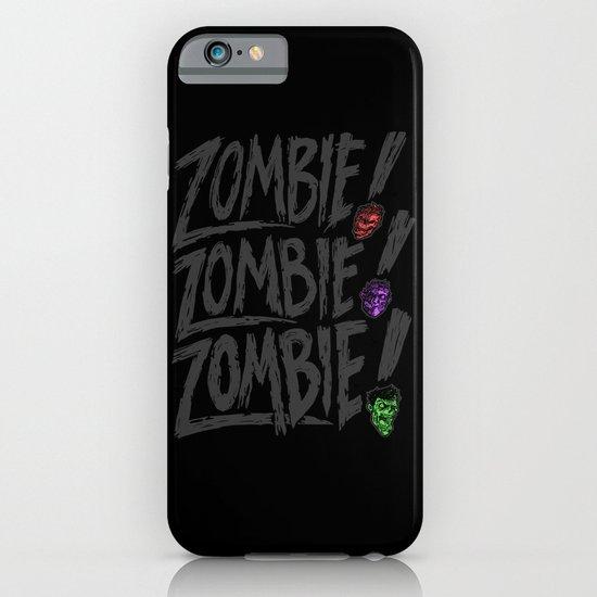 ZOMBIE ZOMBIE ZOMBIE iPhone & iPod Case
