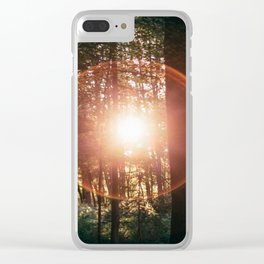 Sun Flare Clear iPhone Case