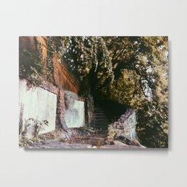 Forgotten Stairs Metal Print