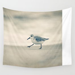 Beach Walk Wall Tapestry