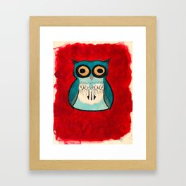 HootHoot Framed Art Print