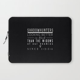 shadow hunters Laptop Sleeve
