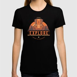 Explore - Backpack T-shirt