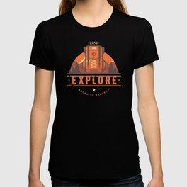 Explore - Backpack T-shirt