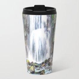 waterfall. Travel Mug