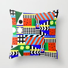 In love with summer Throw Pillow