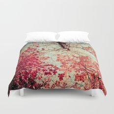 Autumn Inkblot Duvet Cover