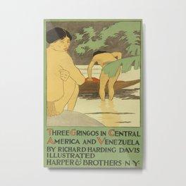 Vintage poster - Three Gringos Metal Print