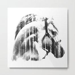 EQUINUS Metal Print