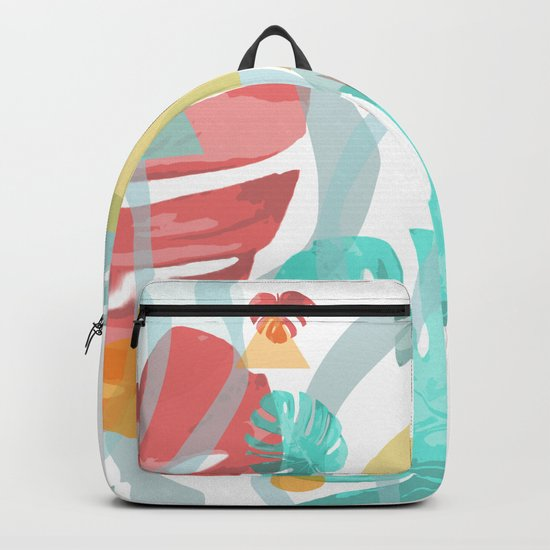 Wild Monstera Backpack