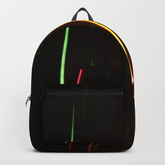 Abstract Motion Lights Backpack