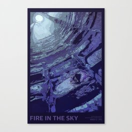 Fire in the Sky - 02 Canvas Print