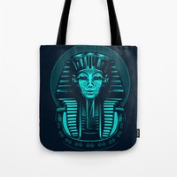 egypt Tote Bags featuring Egypt by nicksimon