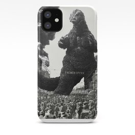 New Orleans Godzilla Attack 1908 iPhone Case