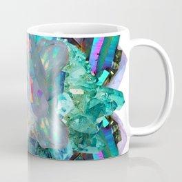 Green Crystal Dream Mandala Coffee Mug